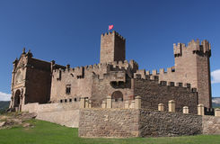 Castle of Javier Stock Photography
