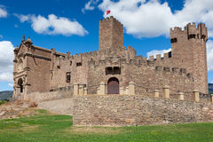 Castle of Javier Stock Photos
