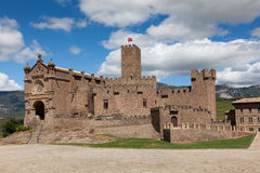 Castle of Javier Royalty Free Stock Images