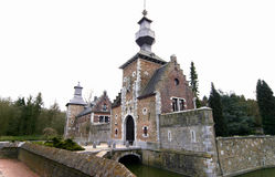 Castle of Jehay. In Belguim Stock Image