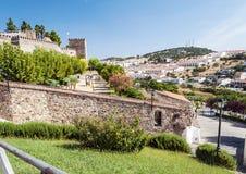 Castle of Jerez de los caballeros Royalty Free Stock Images