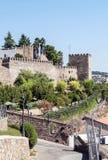 Castle of Jerez de los caballeros Royalty Free Stock Photos