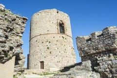 Castle Jimena de la Frontera, Cadiz, Spain Stock Images