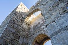 Castle Jimena de la Frontera, Cadiz, Spain Stock Image