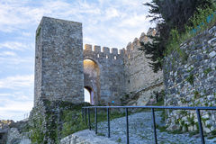 Castle Jimena de la Frontera, Cadiz, Spain Royalty Free Stock Photo