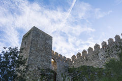 Castle Jimena de la Frontera, Cadiz, Spain Royalty Free Stock Image