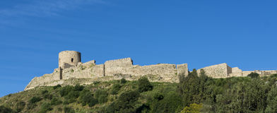Castle Jimena de la Frontera, Cadiz, Spain Royalty Free Stock Photo