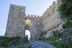 Castle Jimena de la Frontera, Cadiz, Spain Stock Images