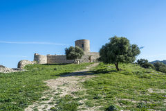 Castle Jimena de la Frontera, Cadiz, Spain Stock Photo