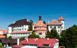 Castle, Jindrichuv Hradec Στοκ φωτογραφία με δικαίωμα ελεύθερης χρήσης