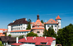 Castle, Jindrichuv Hradec Royalty Free Stock Photography