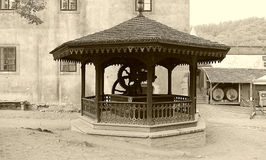 Castle KÅ™ivoklà ¡ τ, Pà ¼ rglitz Στοκ Εικόνες