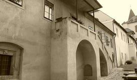 Castle KÅ™ivoklà ¡ τ, Pà ¼ rglitz Στοκ εικόνα με δικαίωμα ελεύθερης χρήσης