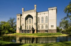 Castle in Kórnik (Kornik) Stock Photo