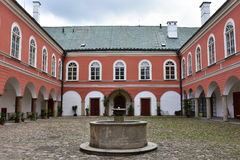 Castle Kamenice nad Lipou,Czech Royalty Free Stock Photo