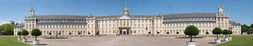 The castle of karlsruhe Royalty Free Stock Photos