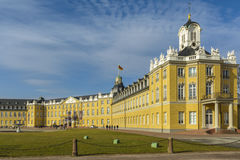 The castle of Karlsruhe, Germany Stock Image