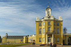 The castle of Karlsruhe, Germany Royalty Free Stock Photography