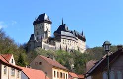 Castle Karlstejn Stock Image