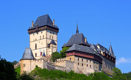 Castle - Karlstejn Stock Photo
