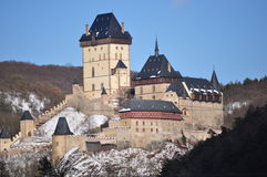 Castle Karlstejn Royalty Free Stock Photography