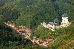 Castle Karlstejn. Czech Republic Royalty Free Stock Images