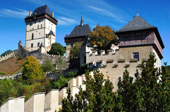 Castle Karlstejn. Czech republic Stock Photo