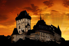 Castle Karlstejn in Czech Republic Stock Image