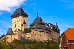 Castle Karlstejn in Czech Republic Royalty Free Stock Photos