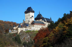 Castle Karlstejn, Czech republic Royalty Free Stock Photos