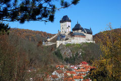 Castle Karlstejn, Czech republic Stock Photography