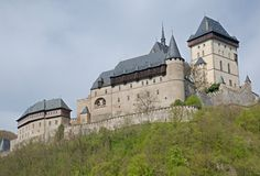 Castle Karlstejn, Czech republic Royalty Free Stock Images