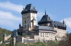 Castle Karlstejn, Czech republic Royalty Free Stock Photography