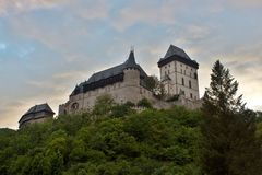 Castle Karlstejn in Czech Republic Royalty Free Stock Photo