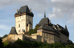 Castle Karlstejn in Czech Republic Stock Photos