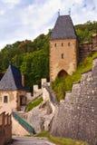 Castle Karlstejn in Czech Republic Stock Images