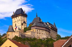 Castle Karlstejn in Czech Republic Royalty Free Stock Image