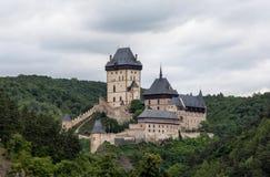 Castle Karlstejn in Czech Republic Stock Photos