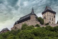 Castle Karlstejn in Czech Republic Stock Image