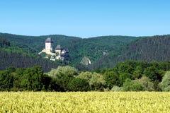 Castle Karlstejn -Czech. Stock Photo