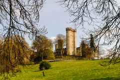 Castle Kasselburg in Pelm near Gerolstein (Germany) Royalty Free Stock Photography