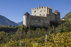 Castle Kastelbell Stock Image