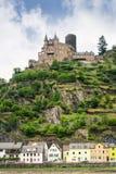 Castle Katz in Germany Stock Image