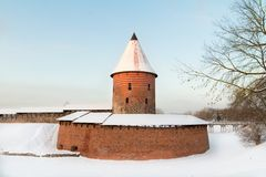 Castle of Kaunas. In Lithuania Stock Image