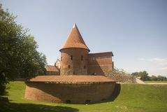 Castle, Kaunas, Lithuania Royalty Free Stock Photography