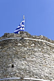 Castle of Kavala city at North Greece Royalty Free Stock Photography