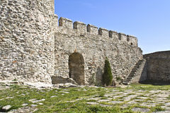 Castle of Kavala city at North Greece. Medieval castle of Kavala city at North Greece Royalty Free Stock Photography