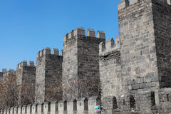 The Castle of Kayseri. Royalty Free Stock Image