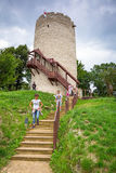 At the castle in Kazimierz Dolny, Poland Royalty Free Stock Photos