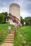At the castle in Kazimierz Dolny, Poland Royalty Free Stock Photos